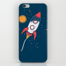 Bottle Rocket to the Milky Way iPhone & iPod Skin