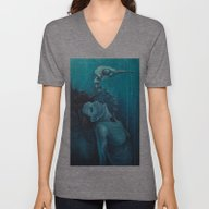 Unisex V-Neck featuring We Will Rise by Brie Duey