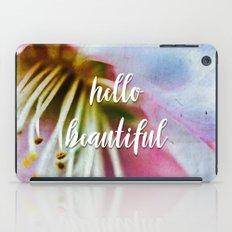 hello beautiful iPad Case