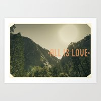 All is Love Art Print
