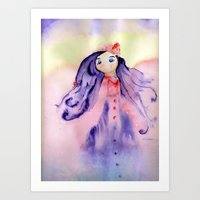 Girly Dreams Art Print