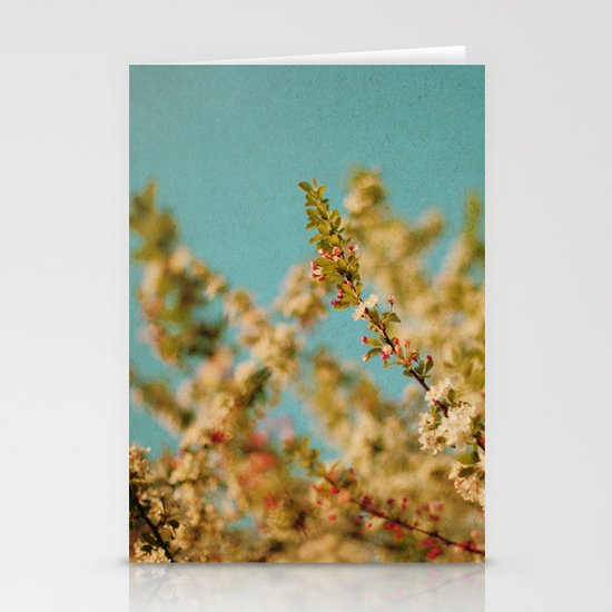 Darling Buds of May Stationery Card