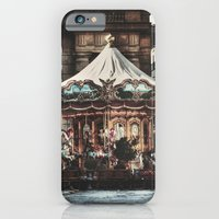 iPhone & iPod Case featuring The Carousel II by ISIK MATER