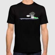 mabe Black SMALL Mens Fitted Tee