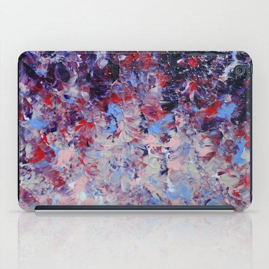 HYPNOTIC SAILOR'S SUNRISE - Stunning Sunset Sunrise Nature Beauty Plum Purple Magenta Ombre iPad Case