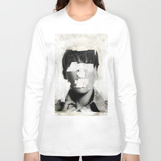 Faceless | number 02 Long Sleeve T-shirt