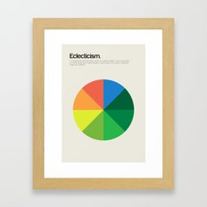 Eclecticism Framed Art Print
