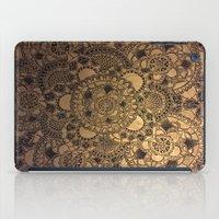 Mandala in Gold iPad Case