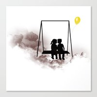 Dreaming Kids Canvas Print