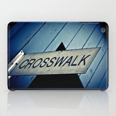 Crosswalk iPad Case