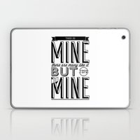 This is mine Laptop & iPad Skin