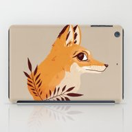 Fox Familiar iPad Case