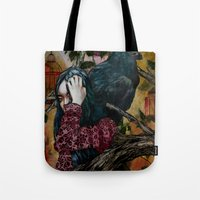 'You can keep me in one of your cages and mock my loss of liberty' Tote Bag