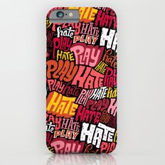 Play/Hate Pattern Slim Case iPhone 6s