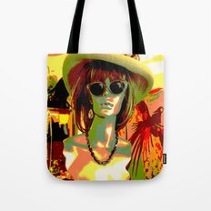 Vintage: Mad Hatter Tote Bag