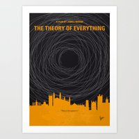 No568 My The theory of everything minimal movie poster Art Print
