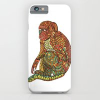 iPhone & iPod Case featuring The Monkey by monasita