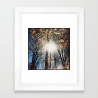 North 13 Framed Art Print