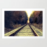 Somewhere Art Print