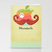 The Macinstache Stationery Cards