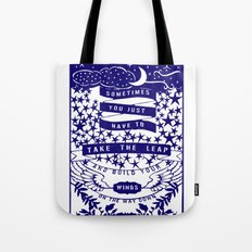 Take the Leap Tote Bag
