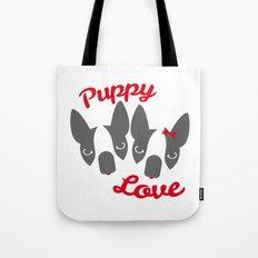 Puppy Love. Tote Bag
