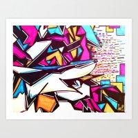 Blockage Art Print