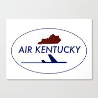 Air Kentucky Canvas Print