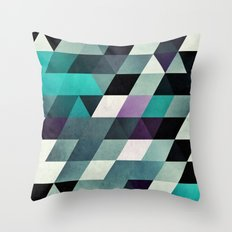 myga cyr Throw Pillow