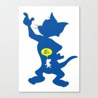 Tom & Jerry Canvas Print