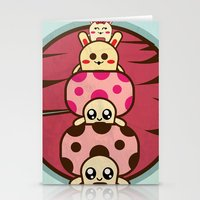 Mushrooms and Stationery Cards