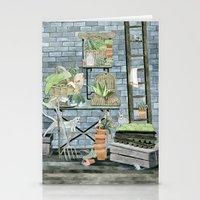 Garden Theme Stationery Cards