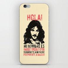 Inigo Montoya iPhone & iPod Skin