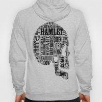 Shakespeare's Hamlet Skull Hoody