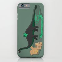 iPhone & iPod Case featuring Dinosaur cosplay by Emma Harckham