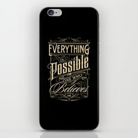 Everything is Possible iPhone & iPod Skin