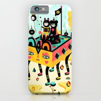iPhone Cases featuring Hanging around! by Muxxi