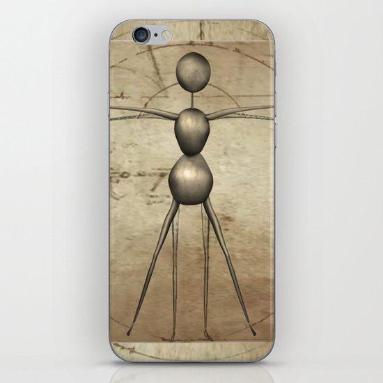 Vitruvian AntWoman iPhone & iPod Skin