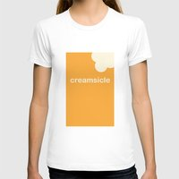 T-shirt featuring Creamsicle (First Bite) by Ice Cream Theory