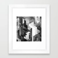 scope 2 (monochrome series) Framed Art Print