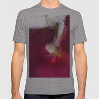 Crimson Orchid Mens Fitted Tee Athletic Grey SMALL