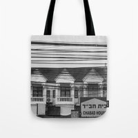Cables III Tote Bag