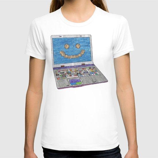 press WIN T-shirt