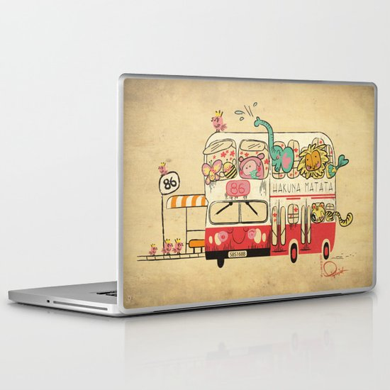 Hakuna Matata, The Childhood Bus Laptop & iPad Skin