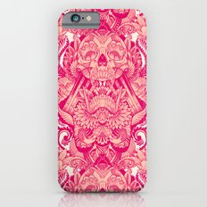 wallpaper skulls iPhone 6 Slim Case