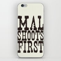 Mal Shoots First iPhone & iPod Skin