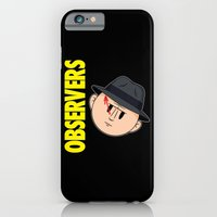iPhone & iPod Case featuring Who Observes the Observers? by Mike Handy Art