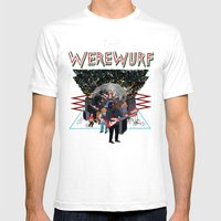 The Werewurf Band Mens Fitted Tee White SMALL