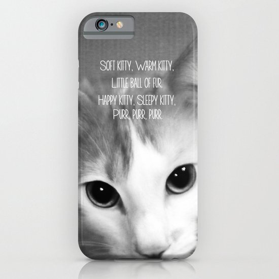 Soft Kitty iPhone & iPod Case