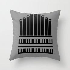 Organ Throw Pillow